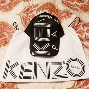 Kenzi Logo Printed Baseball Cap (Unisex)